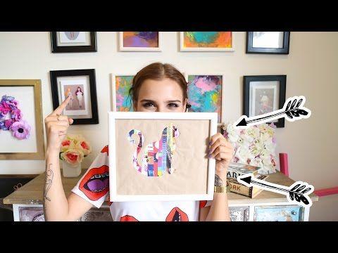 Portarretratos 3d de cartulina ideas para decorar for Cuadros para decorar habitaciones