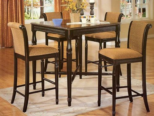 Marvelous High Table And Chairs High Top Kitchen Table And Chairs Spiritservingveterans Wood Chair Design Ideas Spiritservingveteransorg