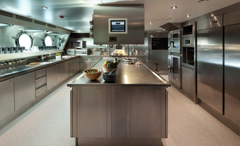 kitchen design yate mega yacht galleys chopi chopi yacht galley 780
