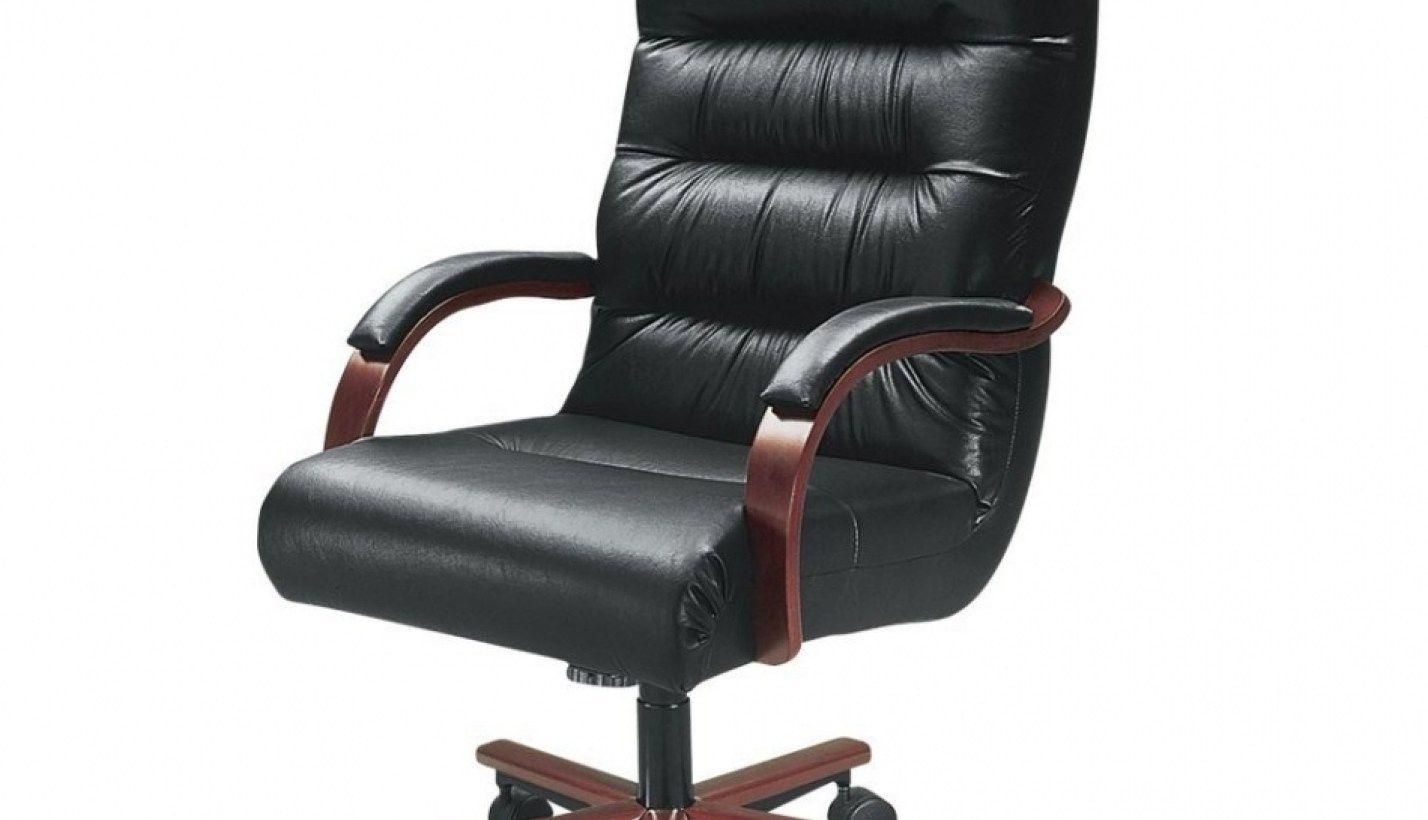 99 La Z Boy Bradley Bonded Leather Executive Chair Black Luxury