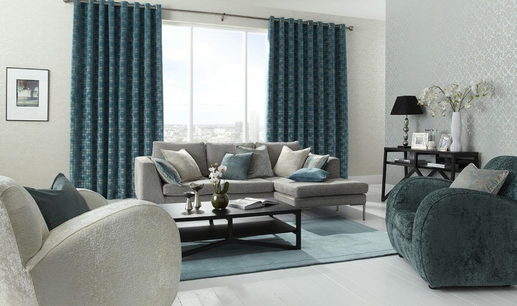 Window Dressings For The Living Room - Norwich Sunblinds Curtains - moderne wohnzimmereinrichtungen