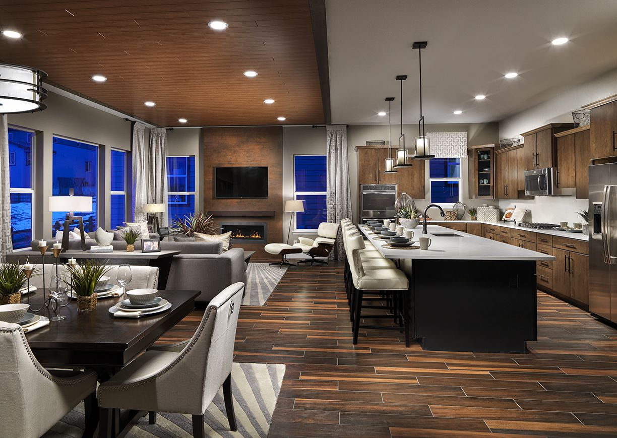 The Cimarron From Shea Homes Colorado 39 S Watercolor Collection Offers Open Floor Plans That Bring