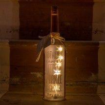 'Mothers' Pink LED Starlight Bottle