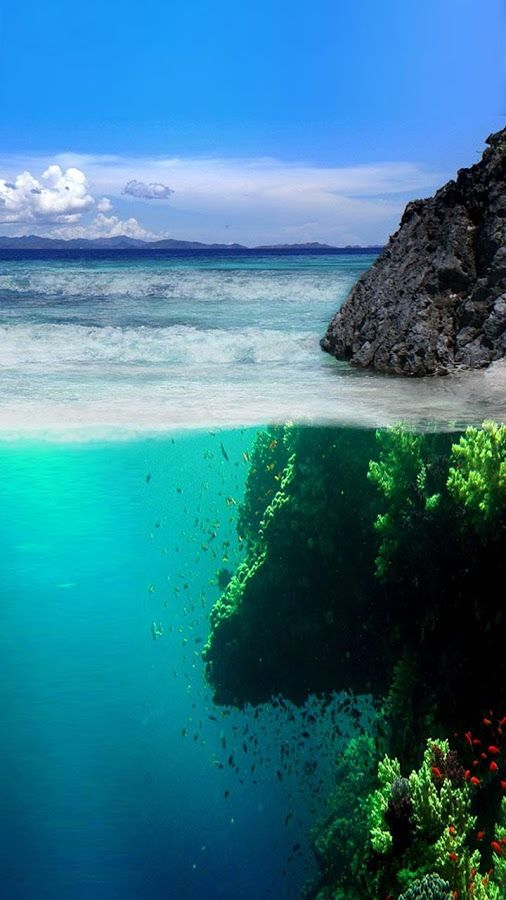 Ocean Live Wallpaper screenshot Nature, Pictures, Landscape