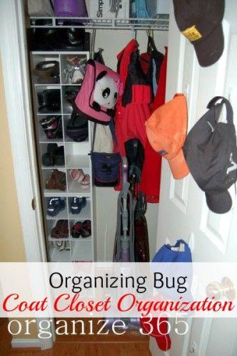 Organizing Bug Coat Closet Organization Organize 365 Coat Closet Organization Shoe Organization Closet Coat Closet
