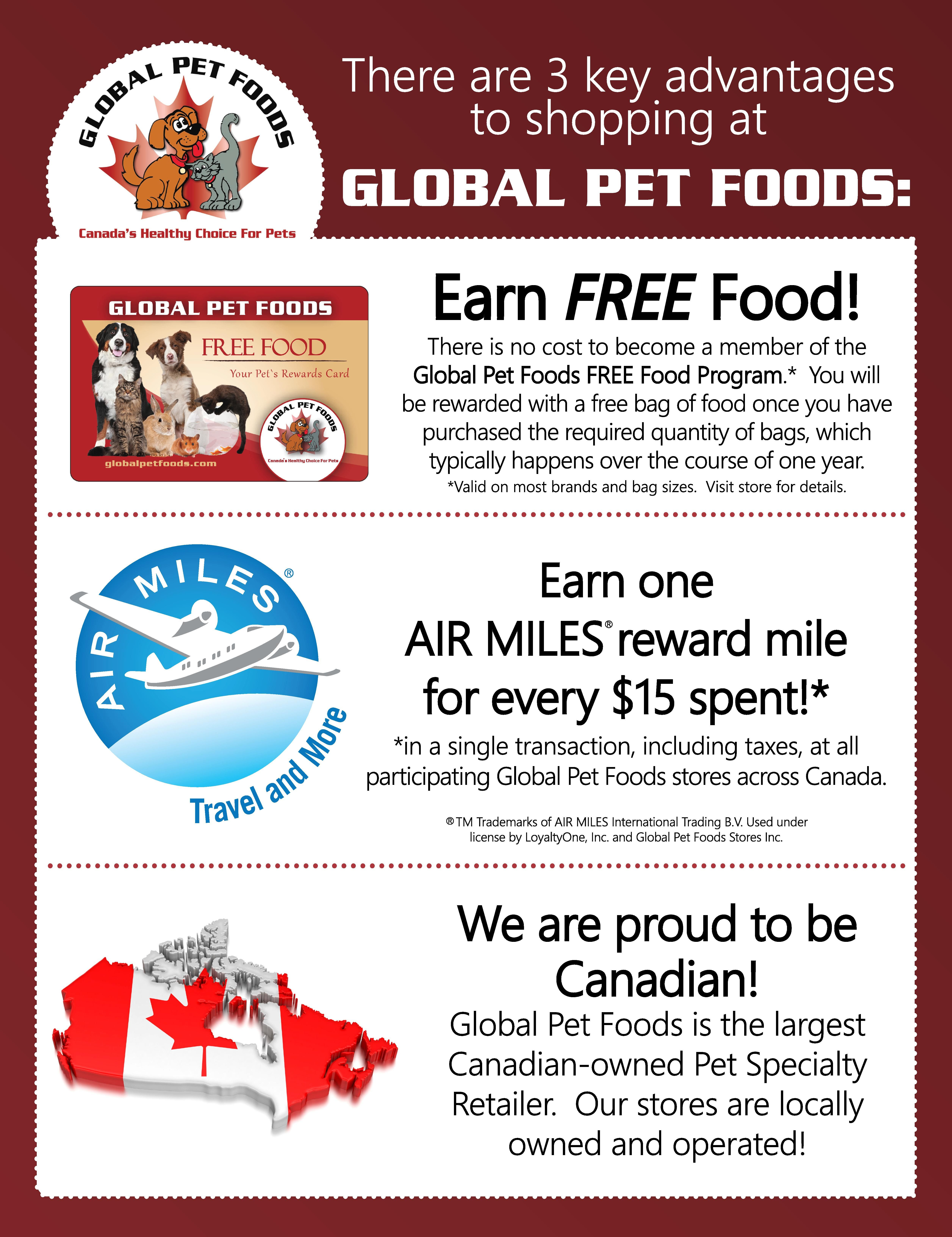 Three Great Reasons To Shop At Global Pet Foods Food Program