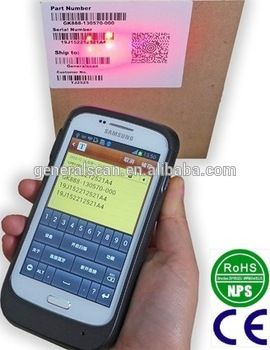 GS SL3000 Enterprise Barcode Sled Android Barcode Scanner
