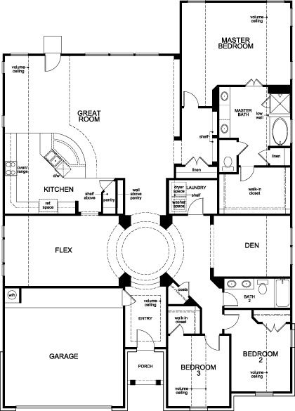 Plan 2598 Kb Homes House Layouts New Homes For Sale