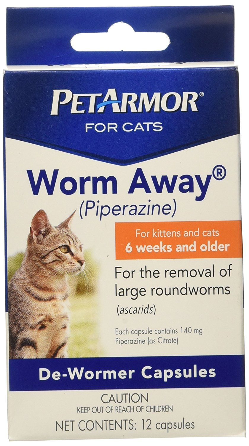 PetArmor 12 Count Worm Away Caps Cats Read more reviews of the