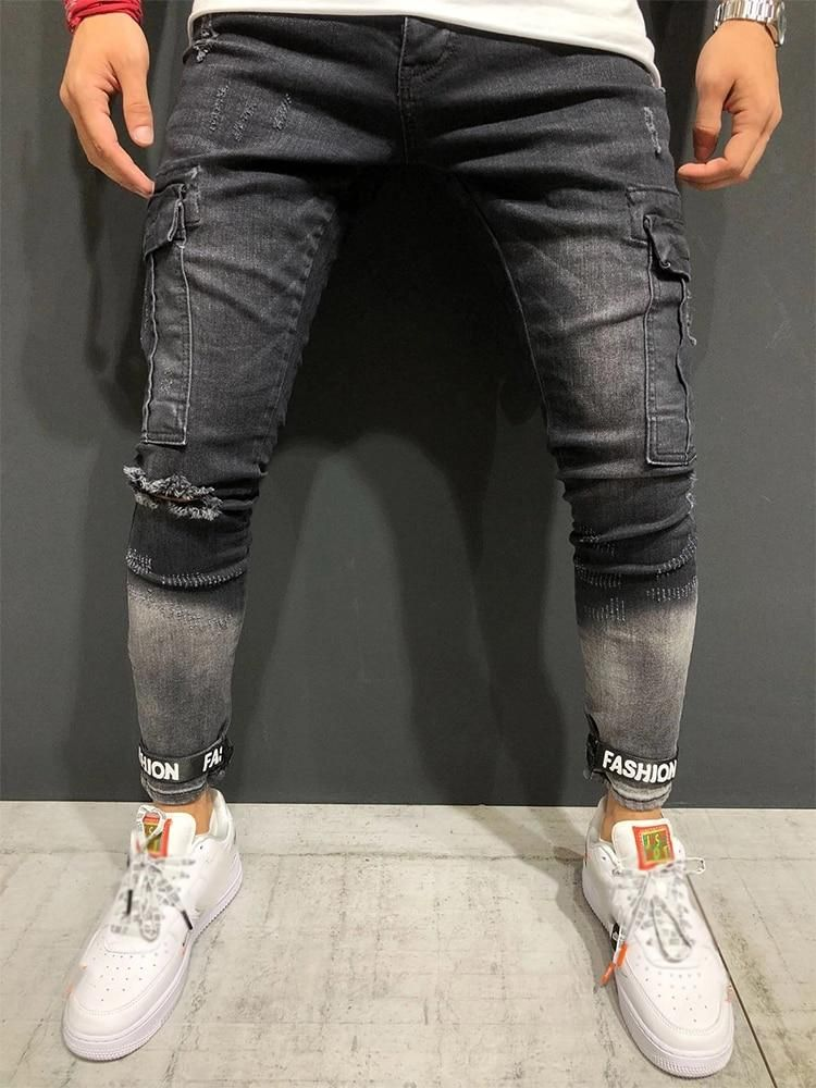 Ropa De Hombre Seven Series Para Hombre Skinny Ripped Stretch Pantalones Slim Fit Pantalon Denim Biker Jeans Ropa Calzado Y Complementos Aniversarioqroo Cozumel Gob Mx