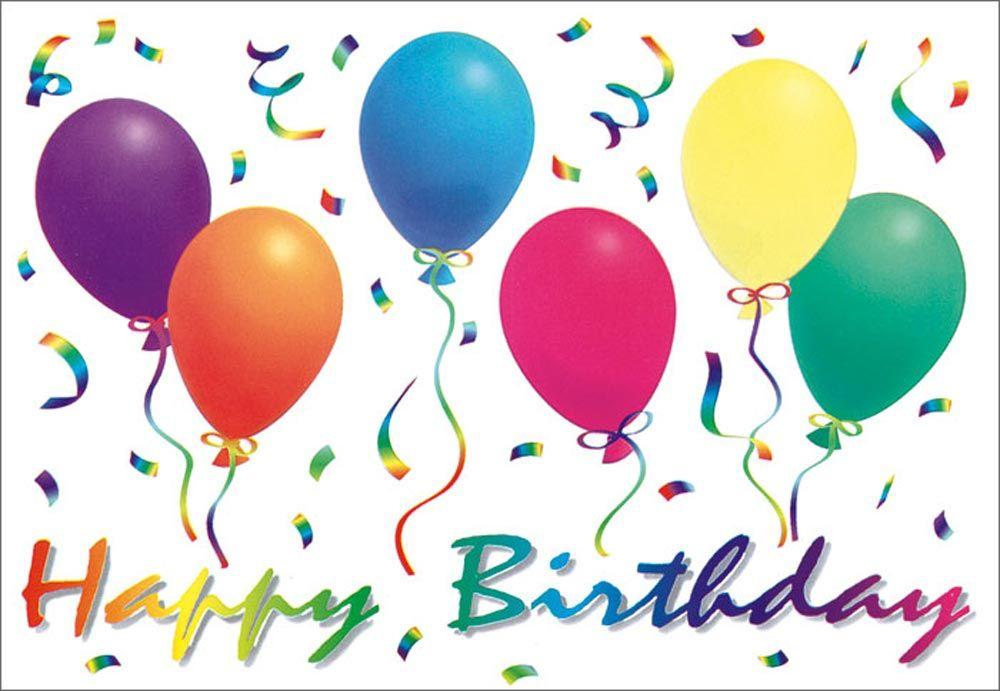 Birthday Balloons For Facebook