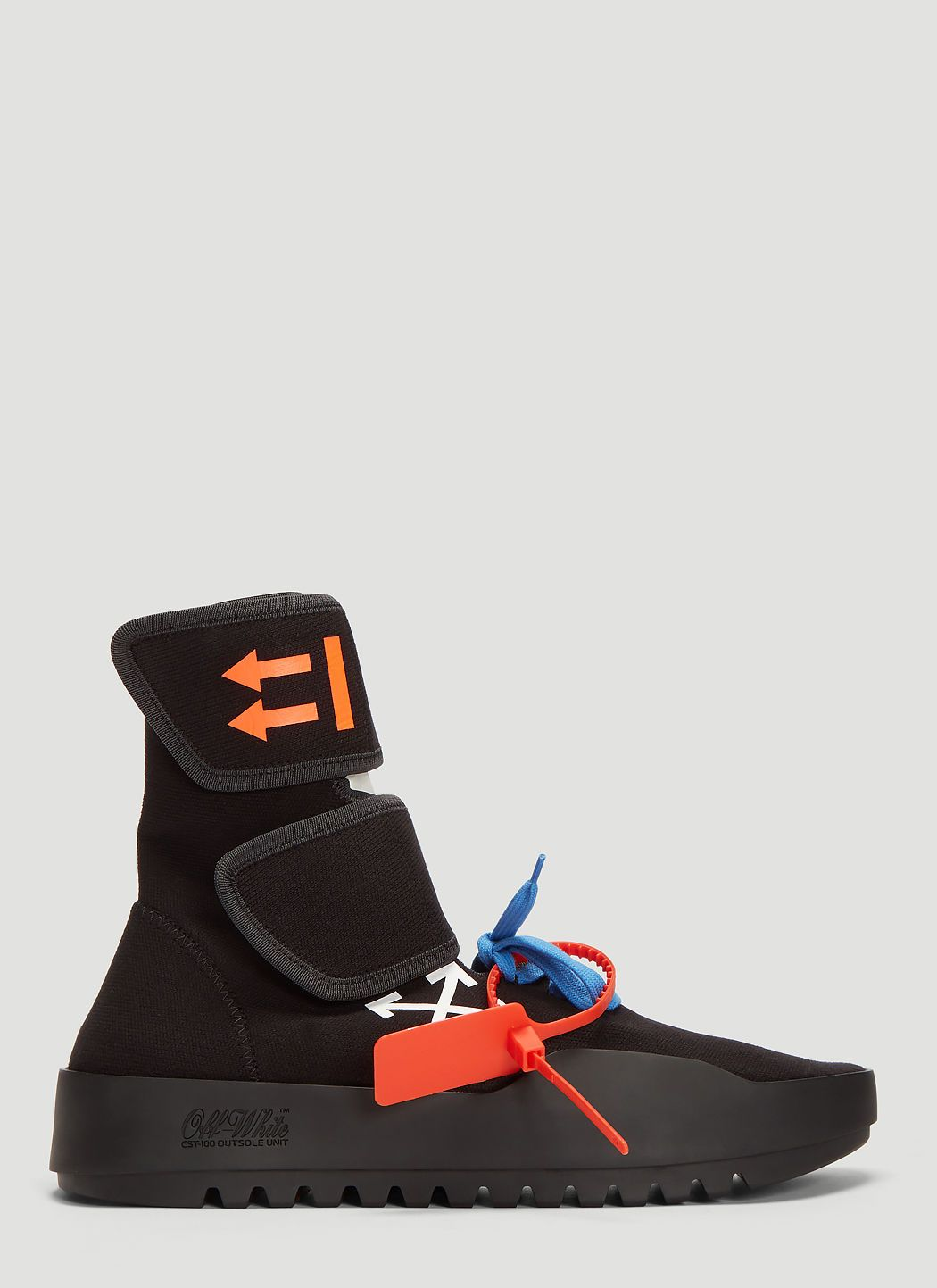 b2ce3ce337b OFF-WHITE Moto Wrap Sneakers in Black. #off-white #shoes | Off-White ...