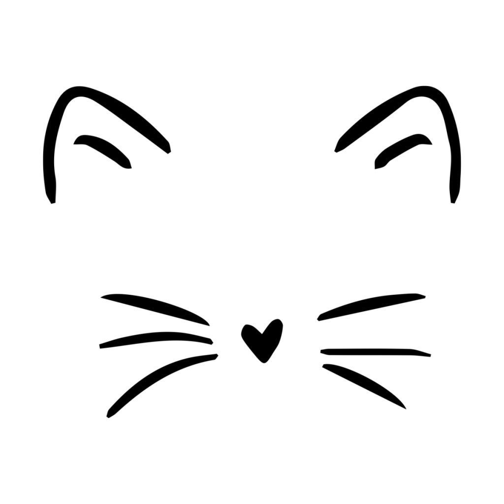 Cat Whiskers Heartlocked S Artist Shop In 2020 Cute Easy Drawings Simple Cat Drawing Cat Face Drawing