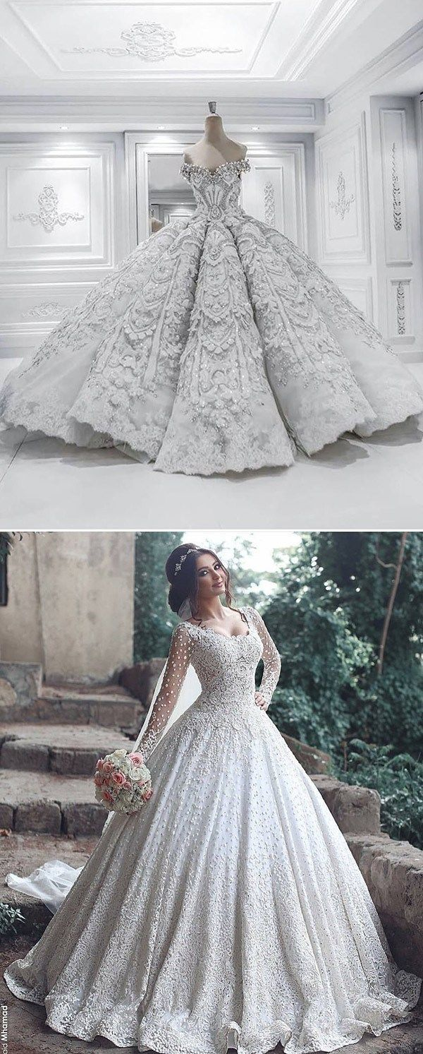 130 Dreamy Princess Ball Gown Wedding Dresses For Fairytale Brides Forevermorebling Wedding Blog Disney Wedding Dresses Princess Wedding Dresses Cinderella Ball Gowns Wedding