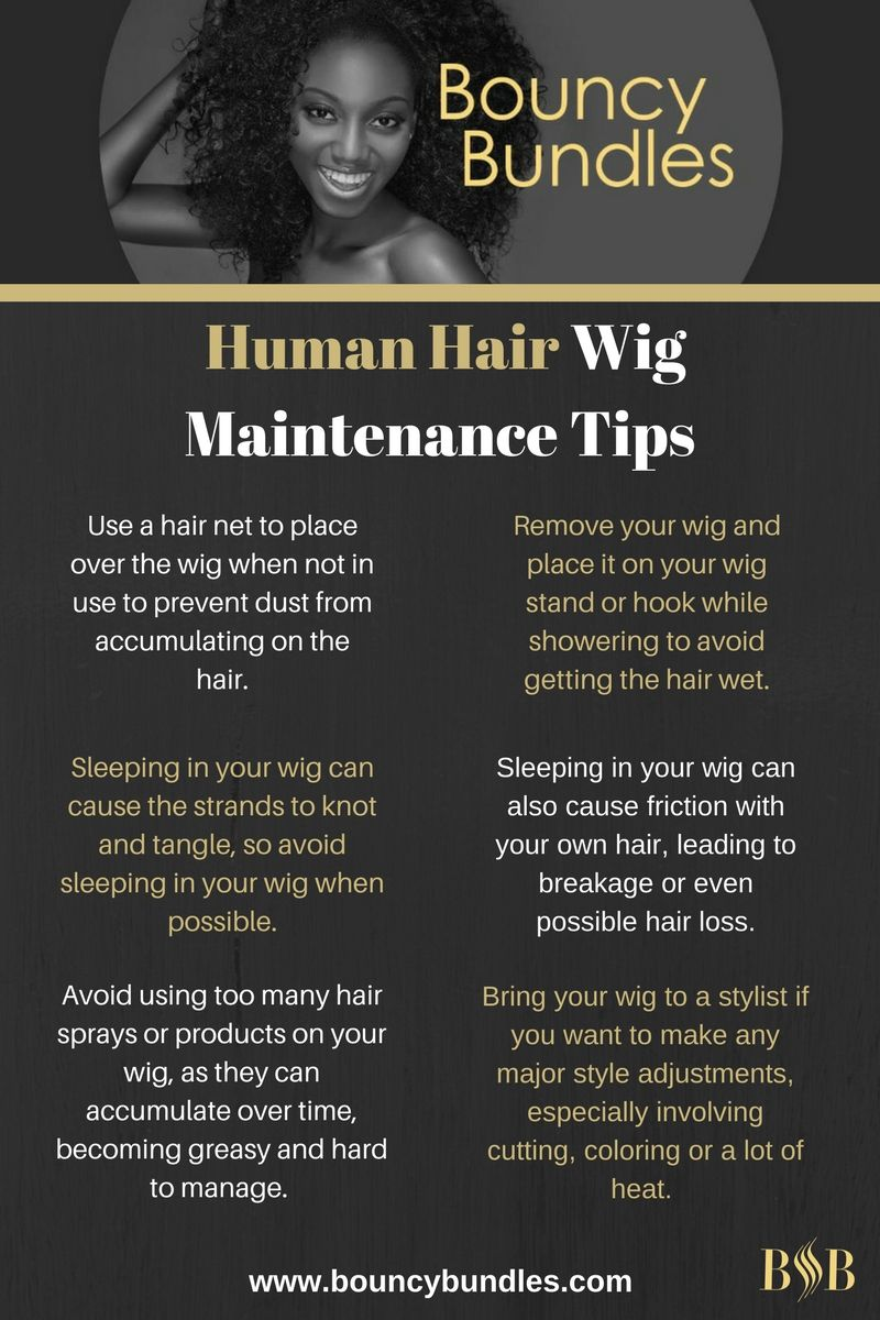 Human Hair Wig Maintenance Tips For The Newbie Fashionista