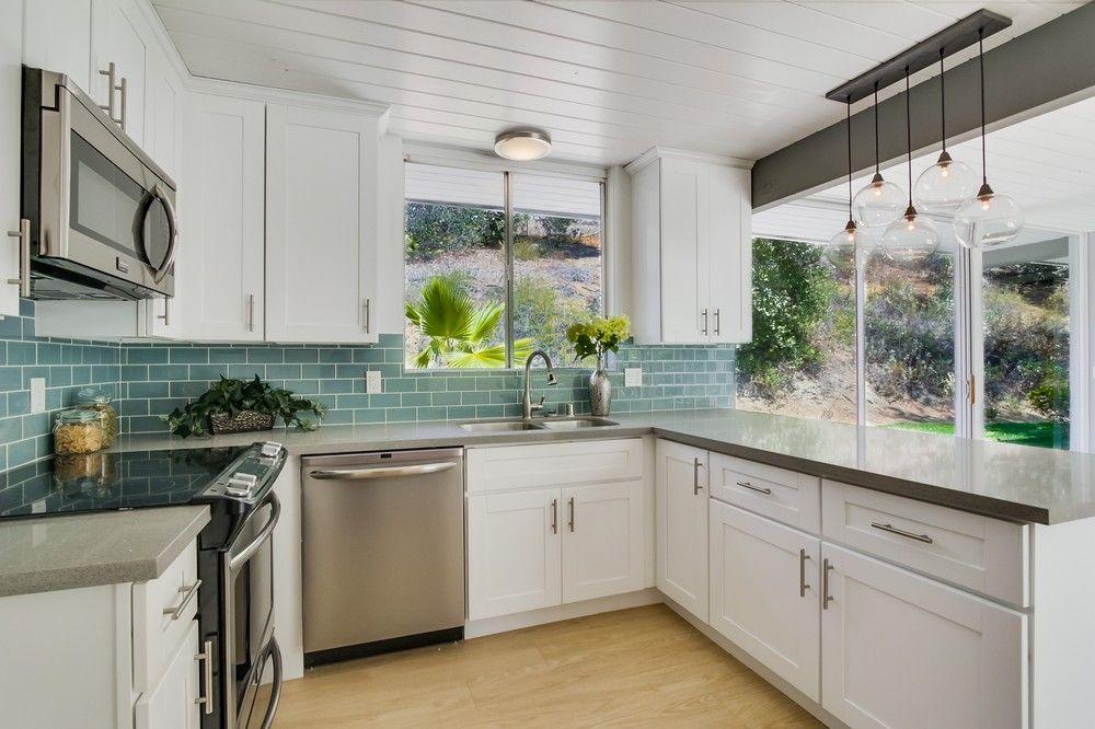 Best Mid Century Modern Kitchen White Kitchen Bubble 400 x 300