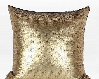 decorative pillow throw pillow cover gold and black sequins 16 x16 rh pinterest es
