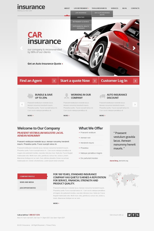 Grey Car Insurance #WordPress #Responsive Theme coding #MySQL 5+ #mod_rewrite #Apache #PHP 5+ via @medosadvert #42320