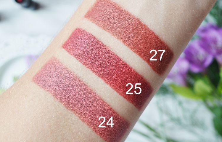 Dsc0852j Farmasi 24 25 27 Matte Matte Lipstick In 2019