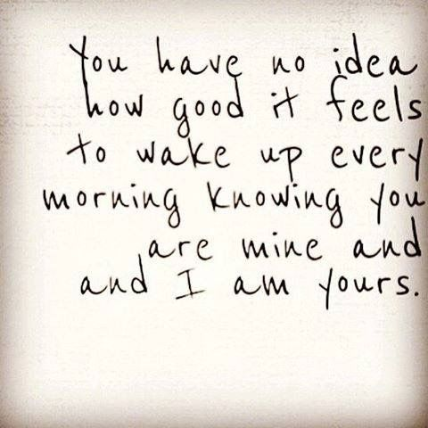 I Love Waking Up To You Quotes