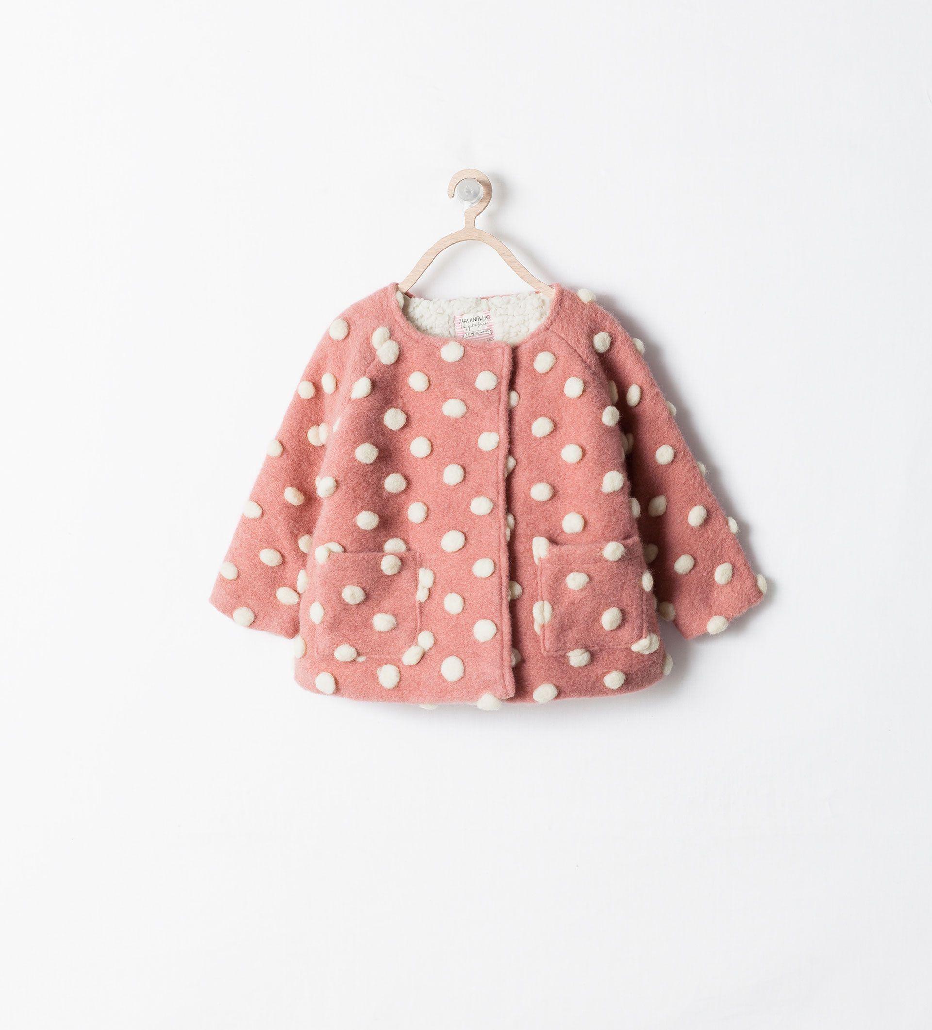 ZARA - KIDS - BUBBLES MIXED FABRIC COAT   Baby coat, Baby ...