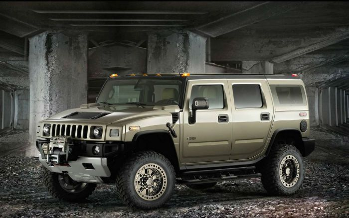 2018 Hummer H2 Military