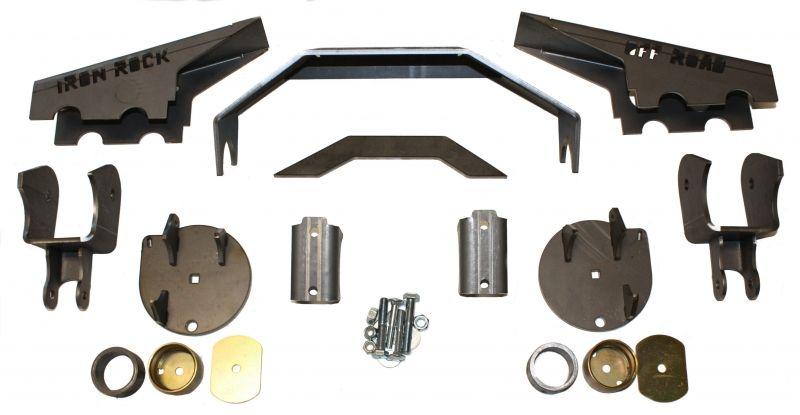 Wj Rear Axle Swap Kit Iron Rock Off Road Jeep Wj Axle Kit
