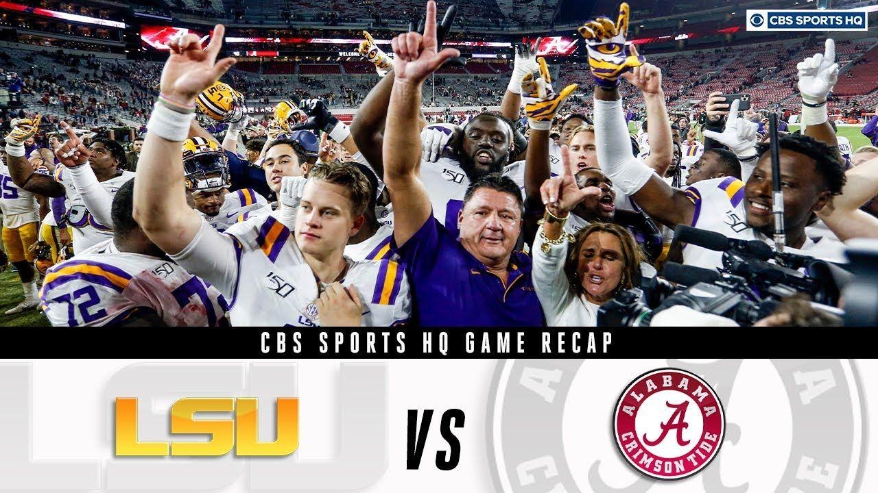 LSU vs. Alabama game recap Can Alabama still make the