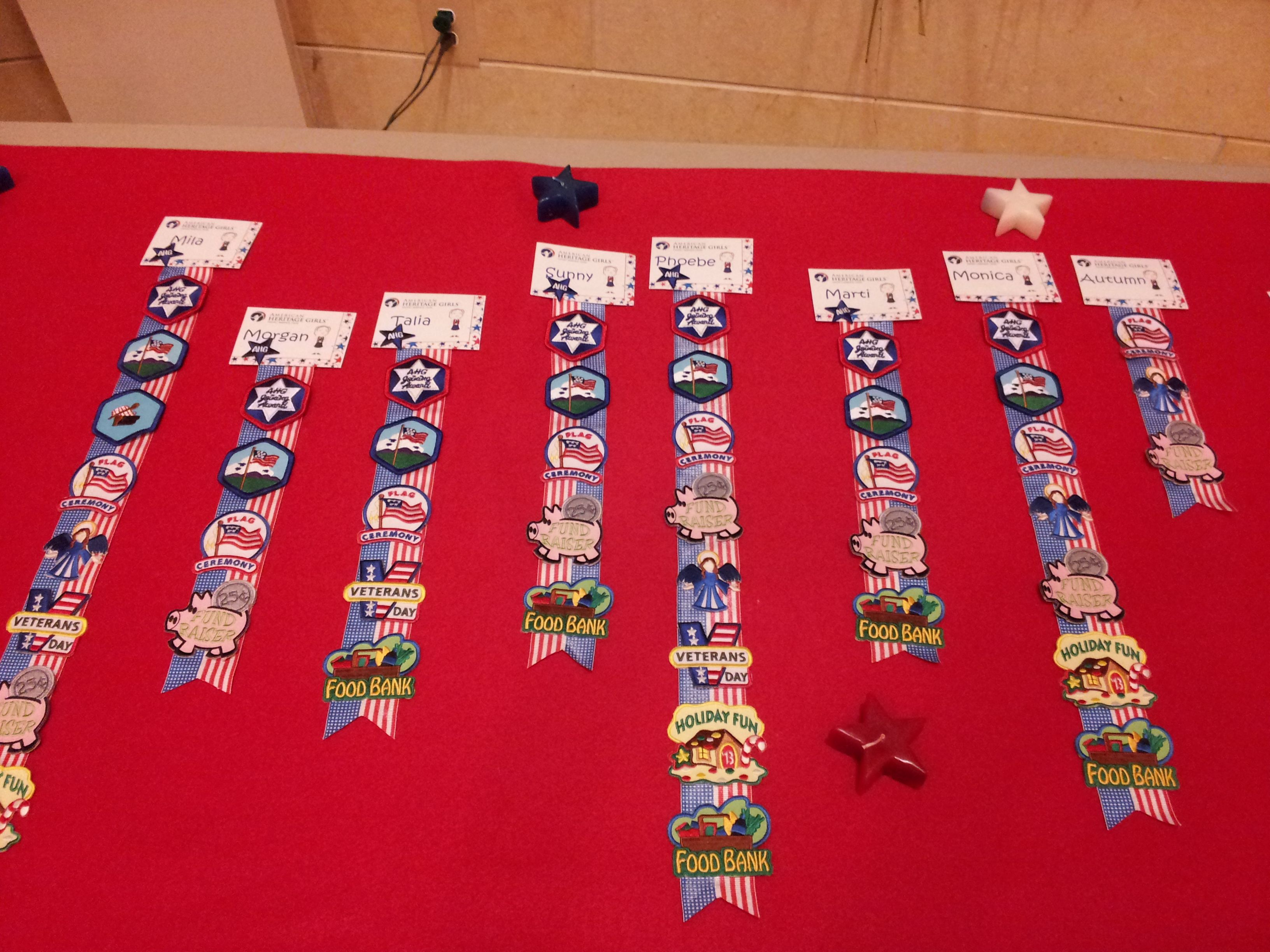 Girl scout scrapbook ideas - Ahg Badge Presentation Ideas Awards Badge Holder