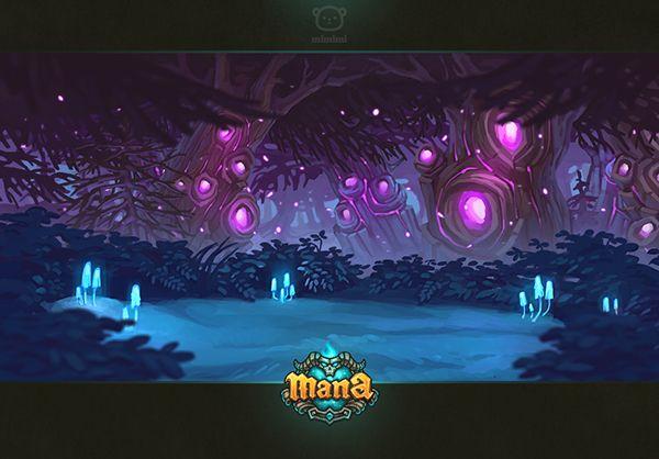 Art for GAME MANA on Behance