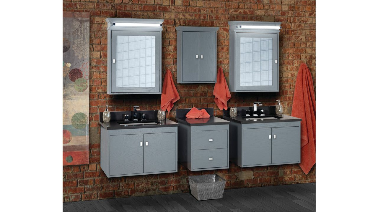 Sodo Is The New Contemporary Wall Mount Vanity From Strasser Woodenworks Sodo Is Available In