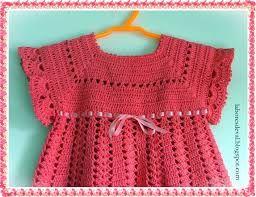 vestidos de bebe de croche com graficos - Pesquisa Google