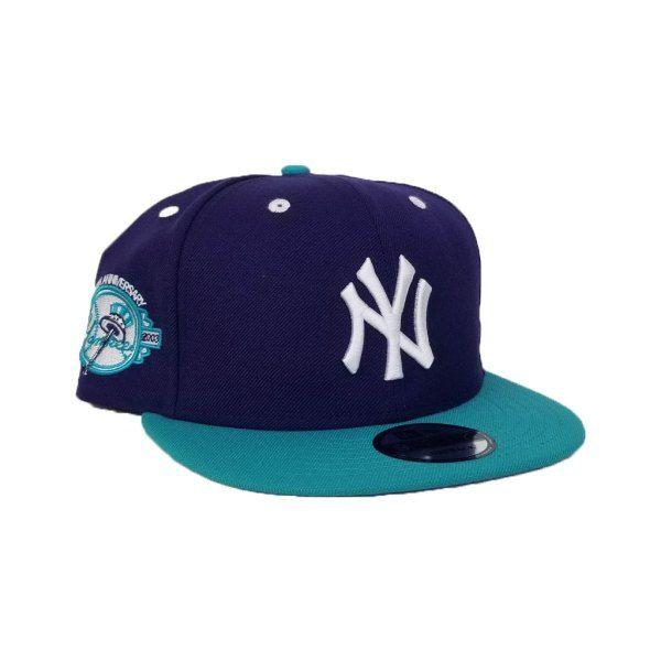 fbf9793d223ff Matching New Era New York Yankees Purple   Teal Snapback for Jordan 5 Fresh  Prince