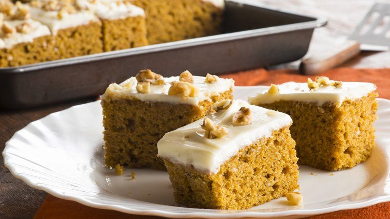Harvest pumpkin spice bars recipe light texture pumpkin bars harvest pumpkin spice bars recipe light texture pumpkin bars and cream cheeses aloadofball Image collections