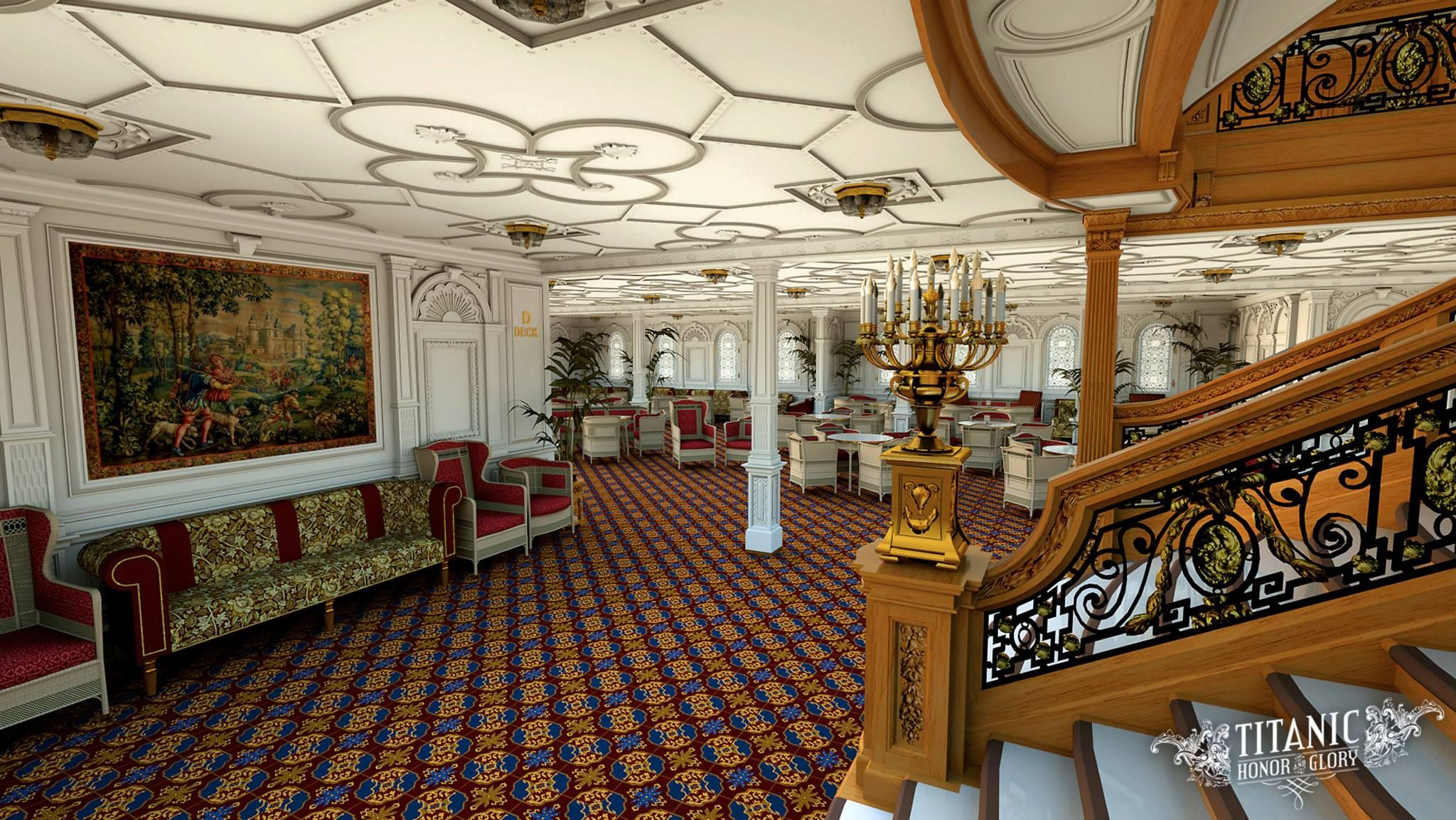 Inside The Lavish Replica Of Titanic Which Is Due To Sail In 2018