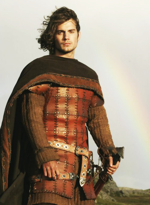 Henry Cavill in Tristan + Isolde (2006). maybe the movie