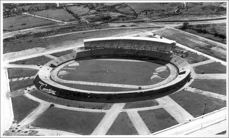 Construccion Estadio Atanasio Girardot Ciudad De Medellin