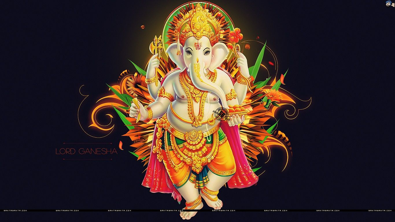 Hd wallpaper ganesh - Find This Pin And More On Hd Wallpapers