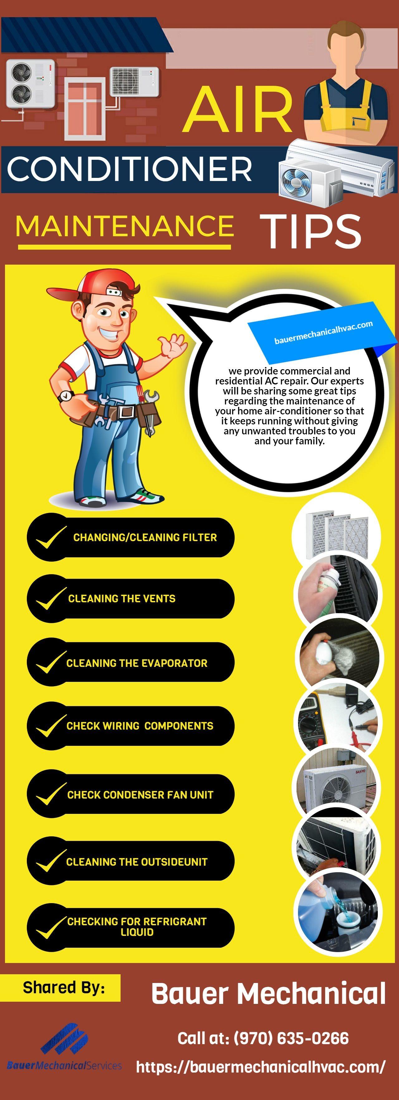 Air Conditioner Maintenance Tips Air conditioner