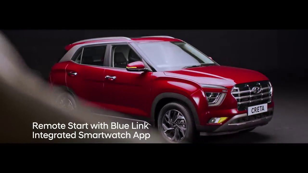 Hyundai All New Creta The Ultimate Suv Connected With Blue Link Te In 2020 Hyundai Suv Technology