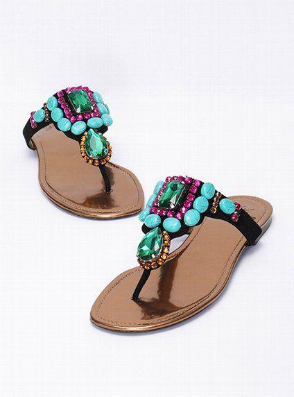 5fe42c356 Stone-embellished Sandal - Colin Stuart® - Victoria s Secret