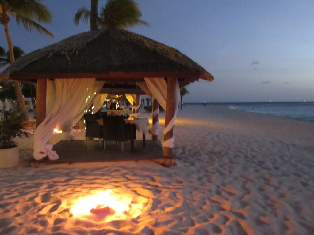 Romantic Dinner on beach Can't wait! Come on September