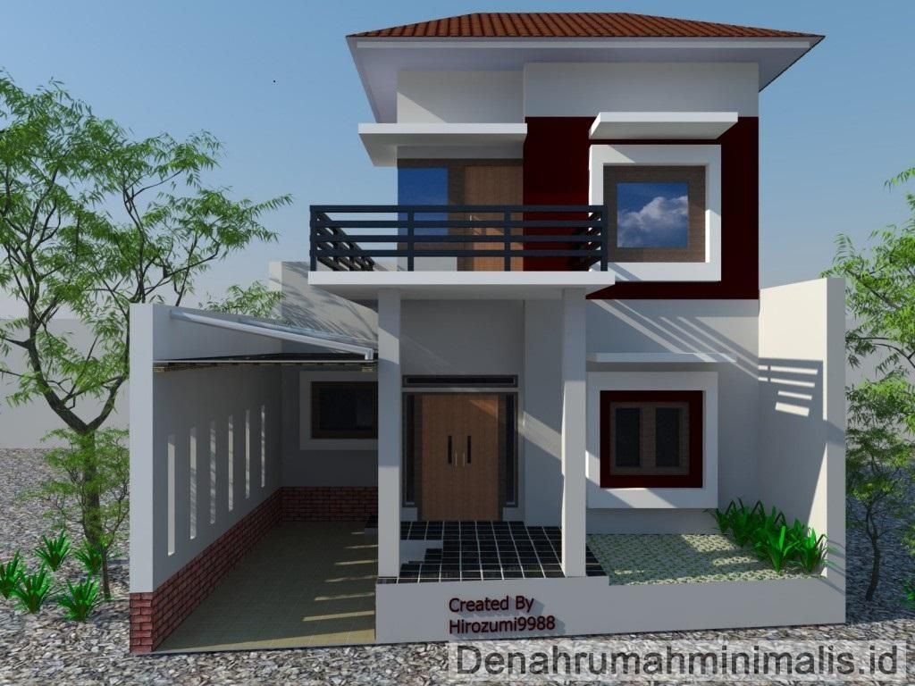 Desain Rumah Minimalis 2 Lantai 2016 Desain Rumah Minimalis 2 Lantai Type 36 36 6 21 21 60 45 90 Desain Rumah Minimalis Desain Rumah Desain Rumah Modern