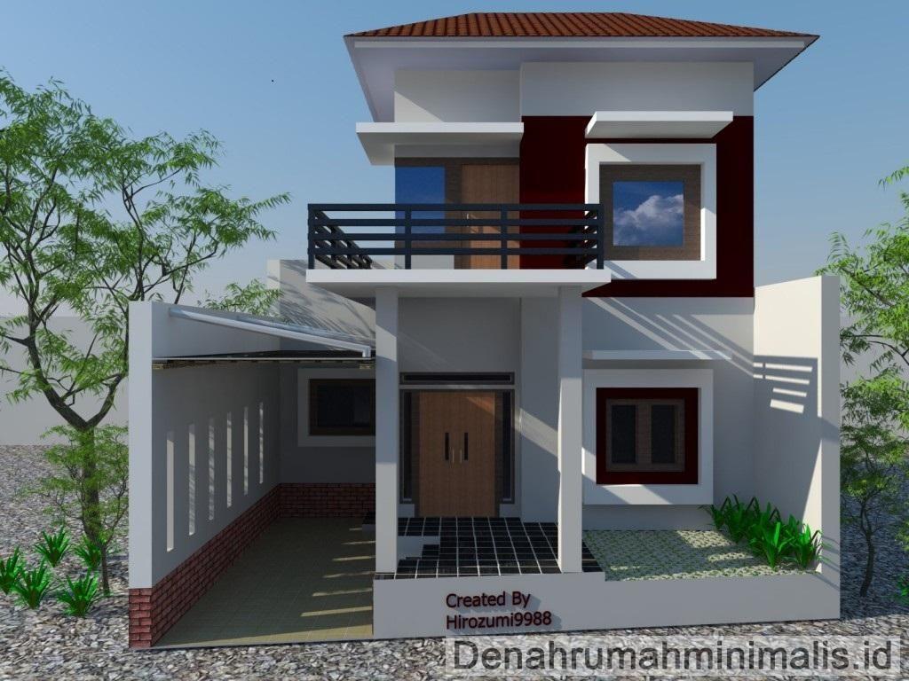 100 Gambar Rumah Minimalis 2 Lantai Type 36 | Gambar ...