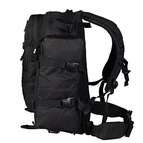 60cdbce42f Seibertron Roving Motorcycle Riding Street Dirt Bike Waterproof Rucksack  Backpack with Raincover Black(1+1) List one main bag and one attachment bag  ...