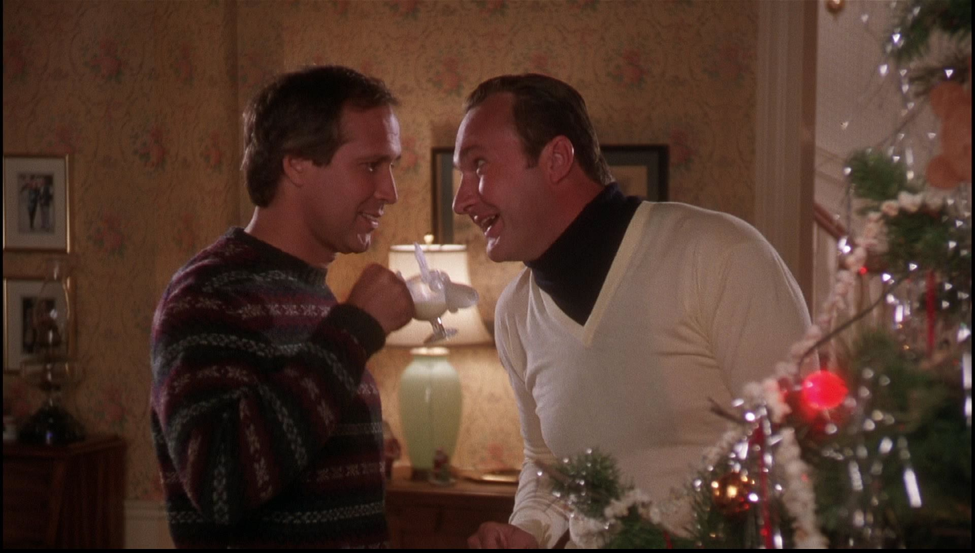 Chevy Chase Christmas Vacation.National Lampoons Christmas Vacation Eggnog Christmas