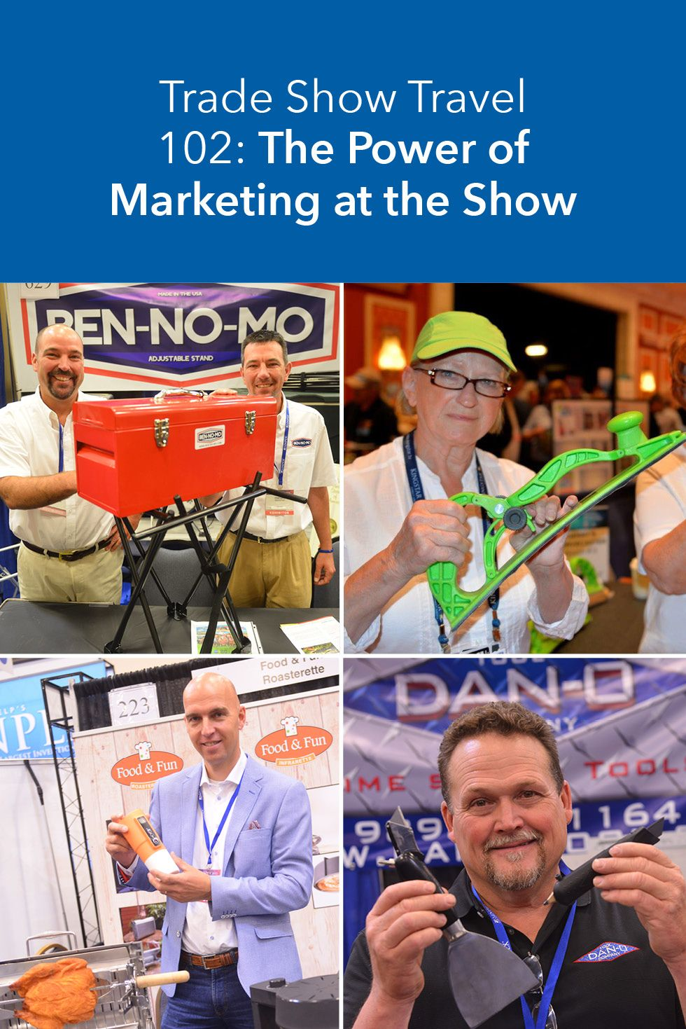 Check out how to use these marketing tactics at your next trade show experience via inventhelp.com. #Blog