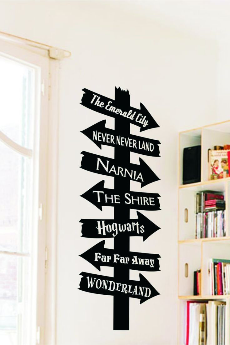 Library Book Destination Sign Library book destination sign decal is easy to apply looks painted on and is removable when you are ready for a change Over 70 colors and ma...
