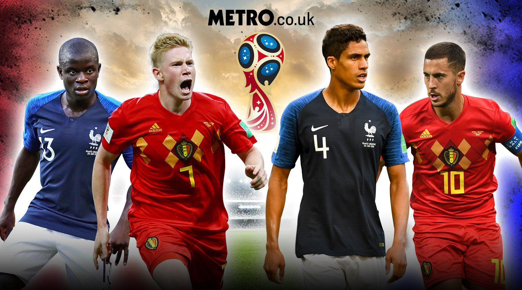 When is Belgium vs France? TV channel time odds and team