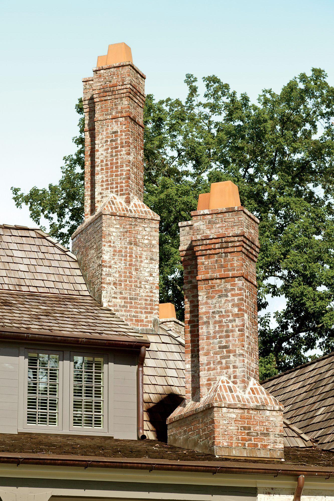 New House Gets A 19th Century Makeover Chimney Design Atlanta Homes Chimney Cap